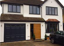 Rehau anthracite grey windows