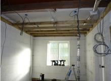 Before garage conversion