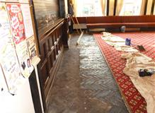 Bar floor before