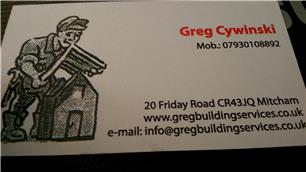 Greg Building Services