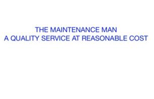 Brian Kinslow Trading as The Maintenance Man