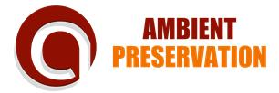 Ambient Preservation
