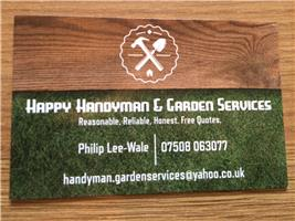 Happy Handyman & Garden Services