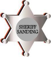 Sheriff Sanding
