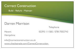 Correct Construction