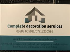 Complete Decoration Services