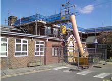 A Sussex (ESCC) School - chute and hoist also