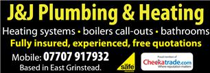 J & J Plumbing and Heating