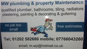 MW Plumbing & Property Maintenance