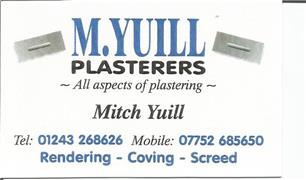 M Yuill Plasterers