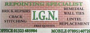 I G N Repointing Specialist