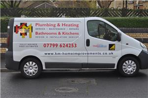 KM Plumbing & Heating Bathrooms & Kitchens