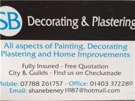 S B Decorating & Plastering
