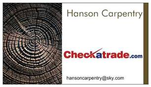 Hanson Carpentry