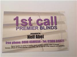 1st Call Premier Blinds