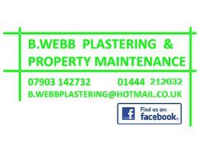 B Webb Plastering & Property Maintenance