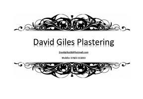 David Giles Plastering
