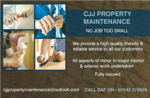 CJJ Property Maintenance