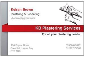 KB Plastering Services