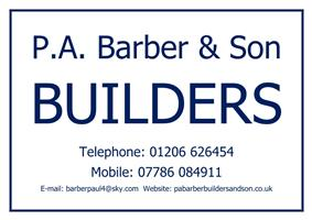 P A Barber Builders and Son