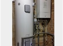 Megaflo and Worcester Bosch boiler.