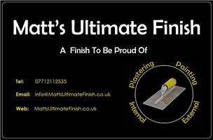 Matt's Ultimate Finish