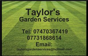 Taylor's Garden Services