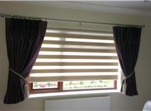 Vision Roller blinds and curtains fitted by brite blinds in hove east sussex