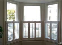 Cafe style shutters recently fitted in Hove