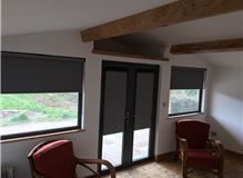 Perfect Fit roller blinds with the new Anthracite frame
