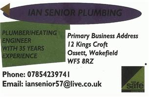 Ian Senior Plumbing & Heating