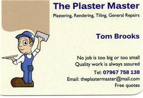 The Plaster Master