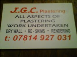 JGC Plastering