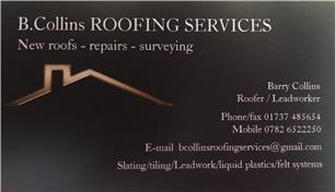 B Collins Roofing Services