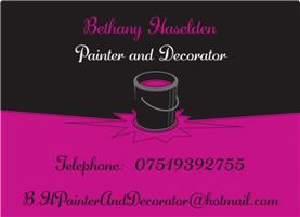Bethany Haselden Painter and Decorator