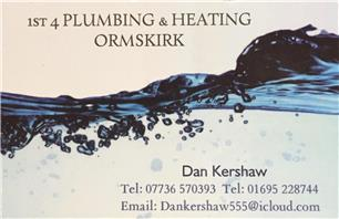 1st 4 Plumbing and Heating Ormskirk
