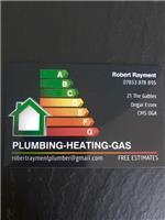 Robert Rayment. Plumbing-Heating-Gas