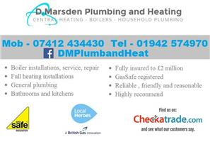 D.Marsden Plumbing and Heating