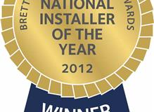 National installer of the year 2012