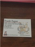 Frank Fagan Builders, Joiners & Maintenance Contractors