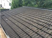 replace low pitched roof causing long term problems