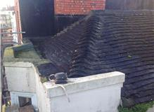 old peg tile roof b4 replacement