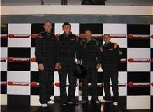 Danny Egi Mike and Luke winning another Karting Endurance event