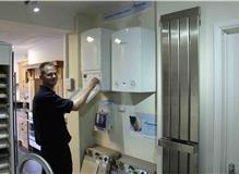boiler in our showroom