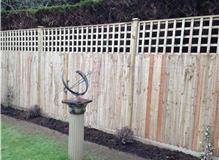 Rear Garden fence  - Yapton